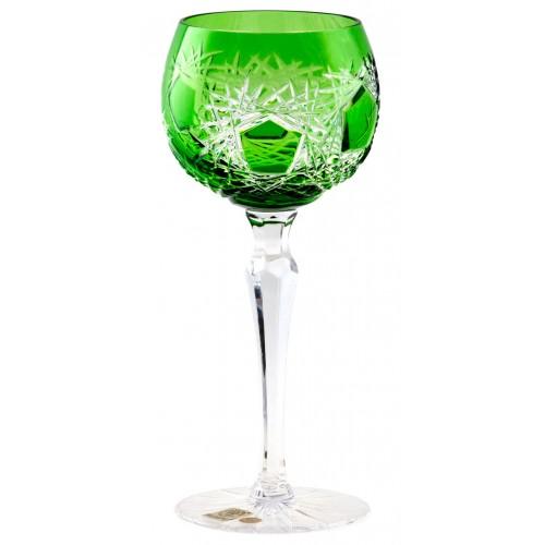 Kieliszek do wina Mróz, kolor zielony, objętość 190 ml