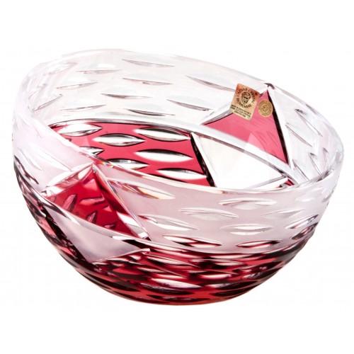 Miseczka Miraż, kolor rubinowy, średnica 130 mm