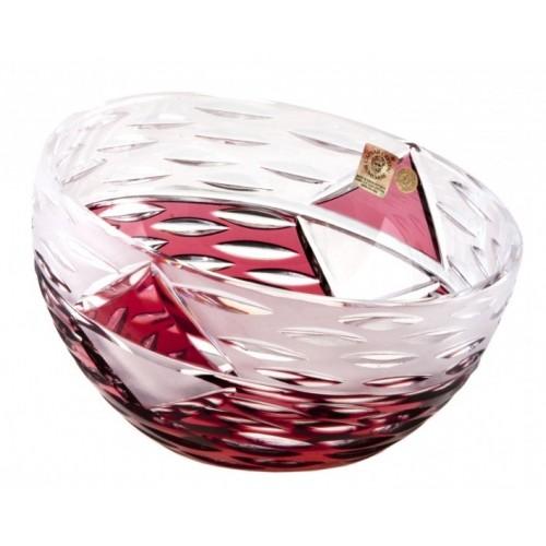 Półmisek Miraż, kolor rubinowy, średnica 230 mm