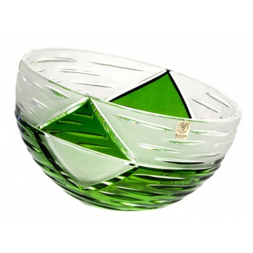 Półmisek Miraż, kolor zielony, średnica 230 mm