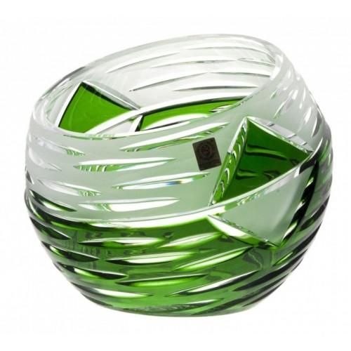 Wazon Miraż, kolor zielony, wysokość 200 mm