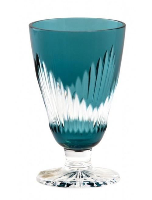Kieliszek do wina Mikado, kolor turkusowy, objętość 200 ml