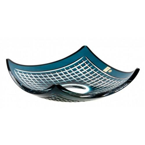 Półmisek Quadrus, kolor turkusowy, średnica 350 mm