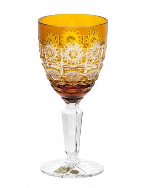 Kieliszek do wina Paula, kolor bursztynowy, objętość 150 ml
