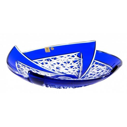 Półmisek Wachlarz, kolor niebieski, średnica 350 mm
