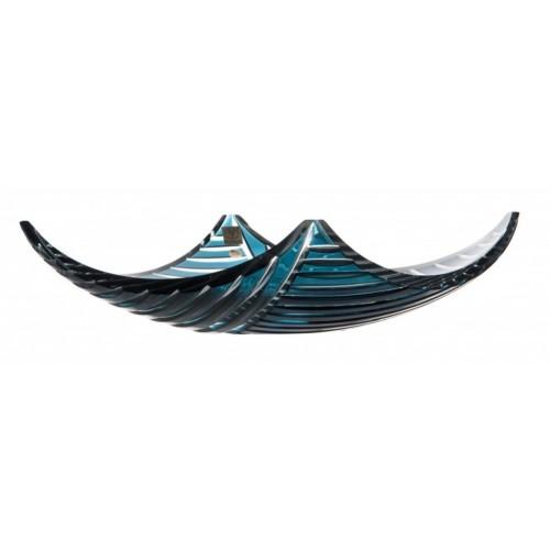 Półmisek Linum, kolor turkusowy, średnica 350 mm