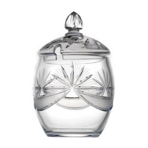 Miska Kokarda, szkło kryształowe bezbarwne, objętość 530 ml