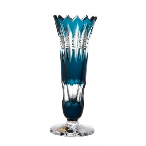 Wazon Brylant, kolor turkusowy, wysokość 175 mm