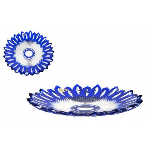 Talerz Płomień, kolor niebieski, średnica 300 mm