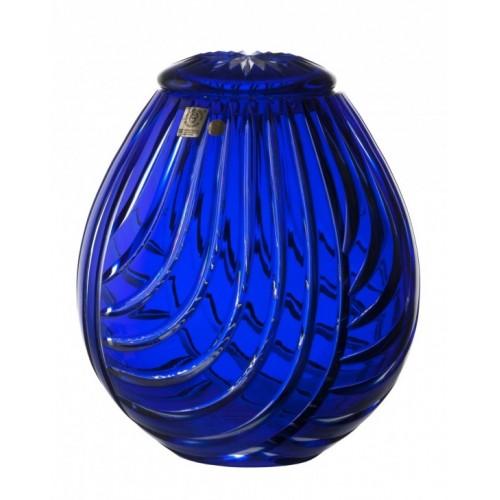 Urna Linum, kolor niebieski, wielkość 230 mm