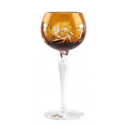 Kieliszek do wina Wiatraczek, kolor bursztynowy, objętość 190 ml