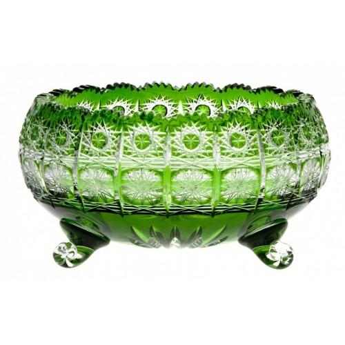 Półmisek Paula, kolor zielony, średnica 230 mm