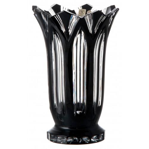 Wazon Lotos, kolor czarny, wysokość 255 mm