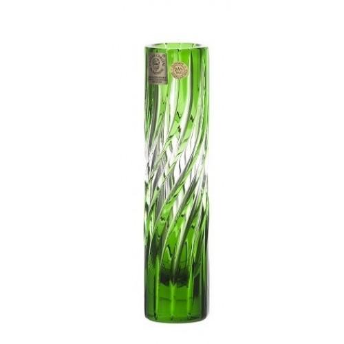 Wazon Zita, kolor zielony, wysokość 155 mm