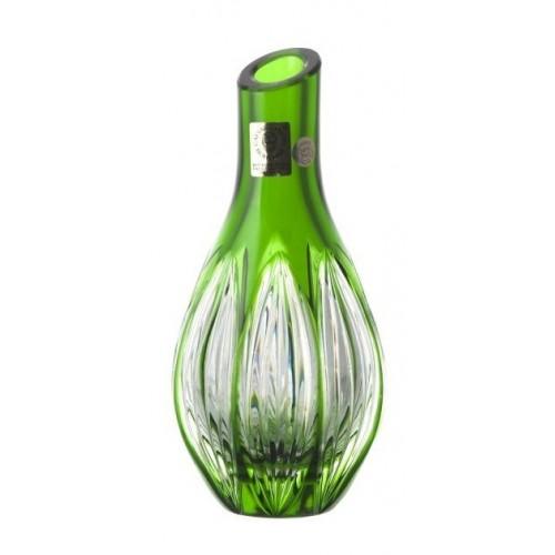 Wazon Prążki, kolor zielony, wysokość 150 mm