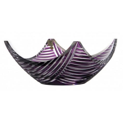 Półmisek Linum, kolor fioletowy, średnica 280 mm