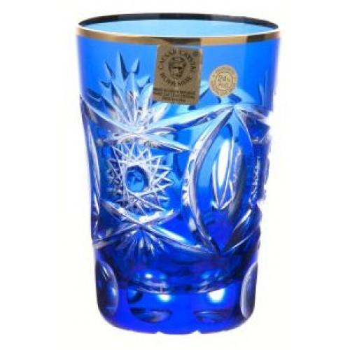Szklanka Złoto, kolor niebieski, objętość 145 ml