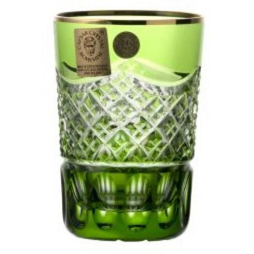 Szklanka Złoto, kolor zielony, objętość 100 ml
