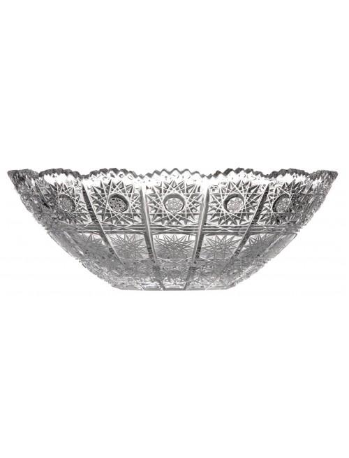 Półmisek 500PK, szkło kryształowe bezbarwne, średnica 230 mm