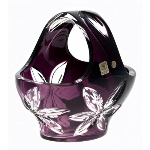 Kosz Linda, kolor fioletowy, średnica 200 mm