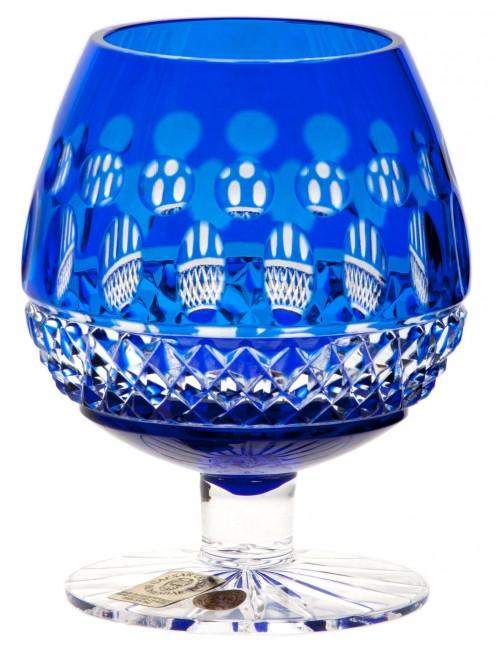 Kieliszek do brandy Tomy, kolor niebieski, objętość 230 ml