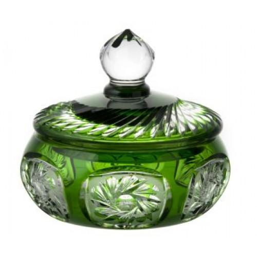 Bomboniera Młynek, kolor zielony, wysokość 165 mm