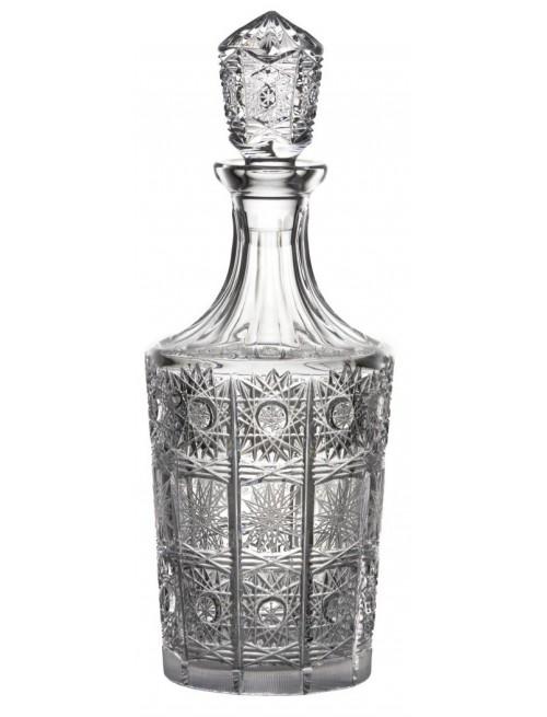 Butelka 500PK, szkło kryształowe bezbarwne, objętość 1000 ml