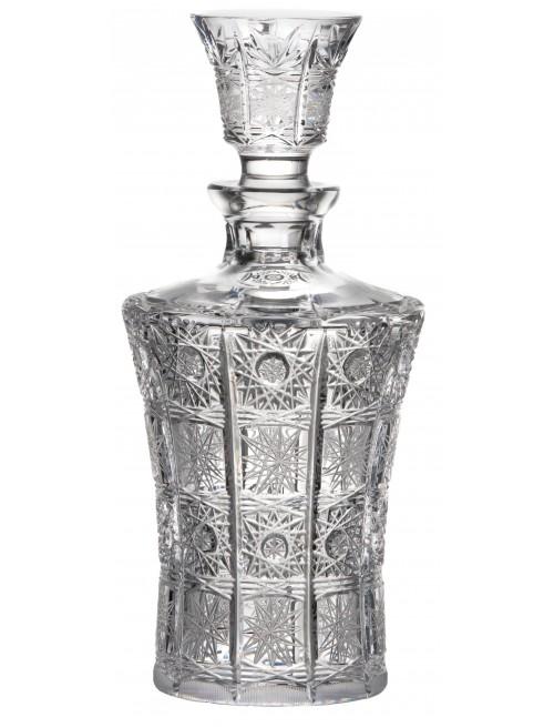 Butelka 500PK, szkło kryształowe bezbarwne, objętość 700 ml