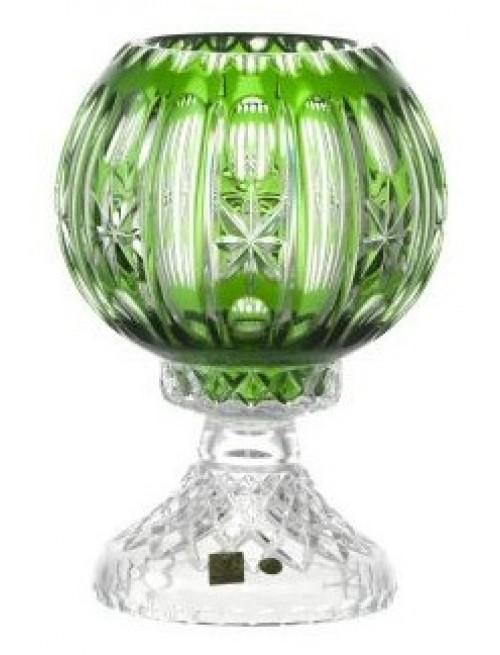 Lampa Malaga, kolor zielony, wysokość 225 mm