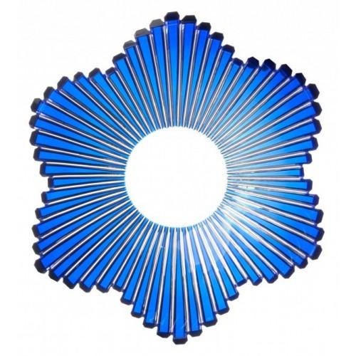 Półmisek Mikado, kolor niebieski, średnica 335 mm