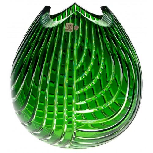 Wazon Linum, kolor zielony, wysokość 280 mm
