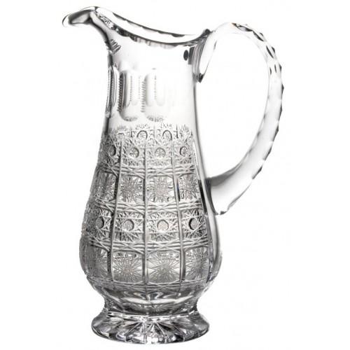Dzbanek 500PK, szkło kryształowe bezbarwne, objętość 1150 ml