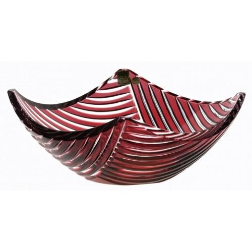 Półmisek Linum, kolor rubinowy, średnica 280 mm