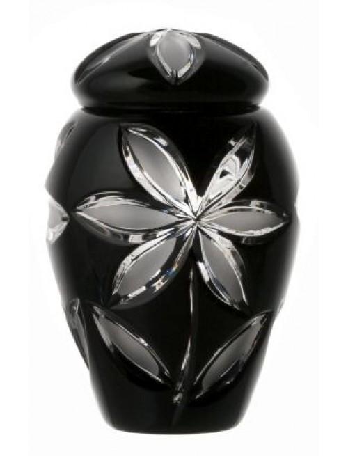 Urna Linda, kolor czarny, wysokość 120 mm