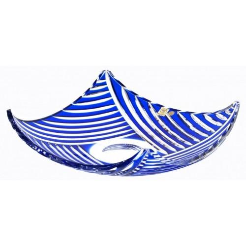 Półmisek Linum, kolor niebieski, średnica 350 mm