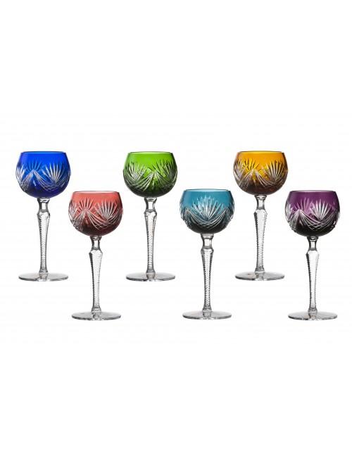 Zestaw kieliszków do wina Janette, różne kolory, objętość 190 ml