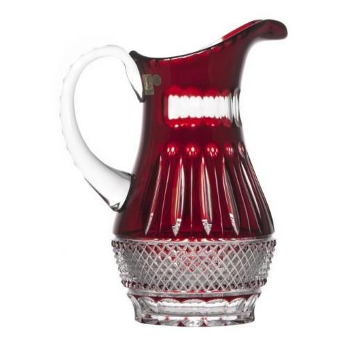 Dzbanek Tom, kolor rubinowy, objętość 1300 ml