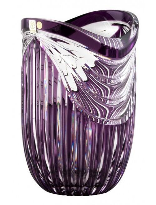 Wazon Harfa, kolor fioletowy, wysokość 250 mm