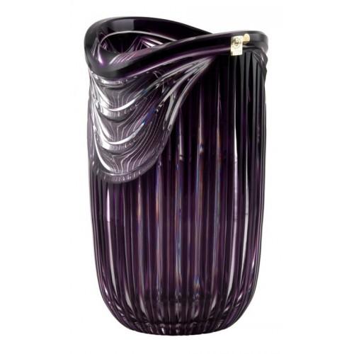 Wazon Harfa, kolor fioletowy, wysokość 300 mm