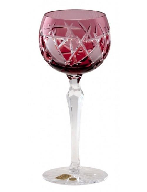 Kieliszek do wina Mars, kolor rubinowy, objętość 190 ml