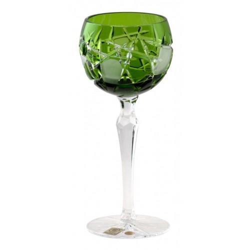 Kieliszek do wina Mars, kolor zielony, objętość 190 ml