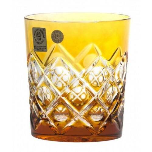 Szklanka Sułtan, kolor bursztynowy, objętość 290 ml