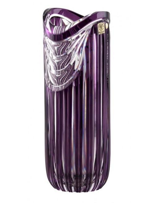 Wazon Harfa, kolor fioletowy, wysokość 320 mm
