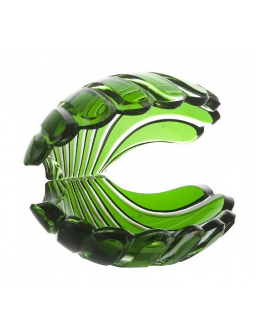 Muszla , kolor zielony, wysokość 140 mm