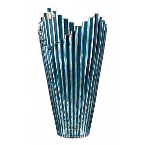 Wazon Mikado, kolor turkusowy, wysokość 310 mm