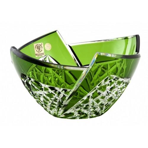 Półmisek Wachlarz, kolor zielony, średnica 180 mm