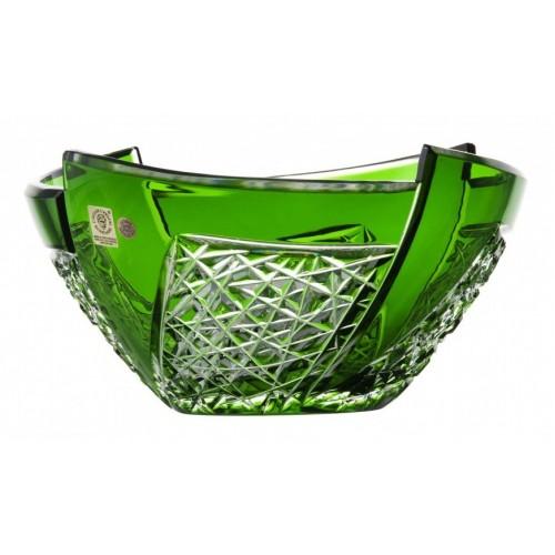 Półmisek Wachlarz, kolor zielony, średnica 225 mm