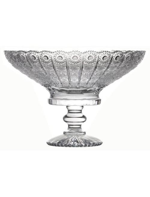 Patera 500PK, szkło kryształowe bezbarwne, średnica 330 mm