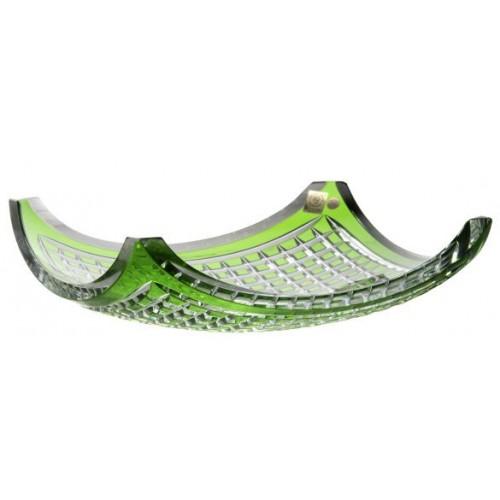 Półmisek Quadrus, kolor zielony, średnica 350 mm