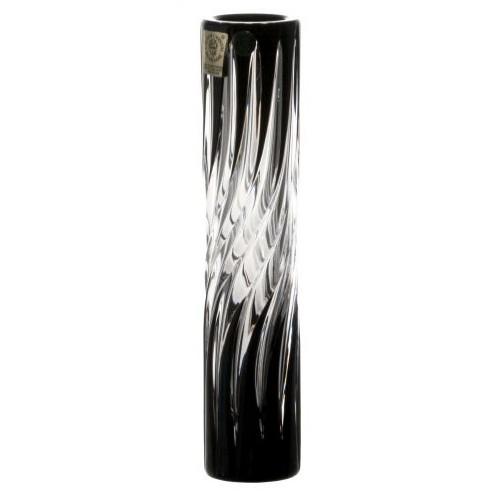 Wazon Zita, kolor czarny, wysokość 180 mm